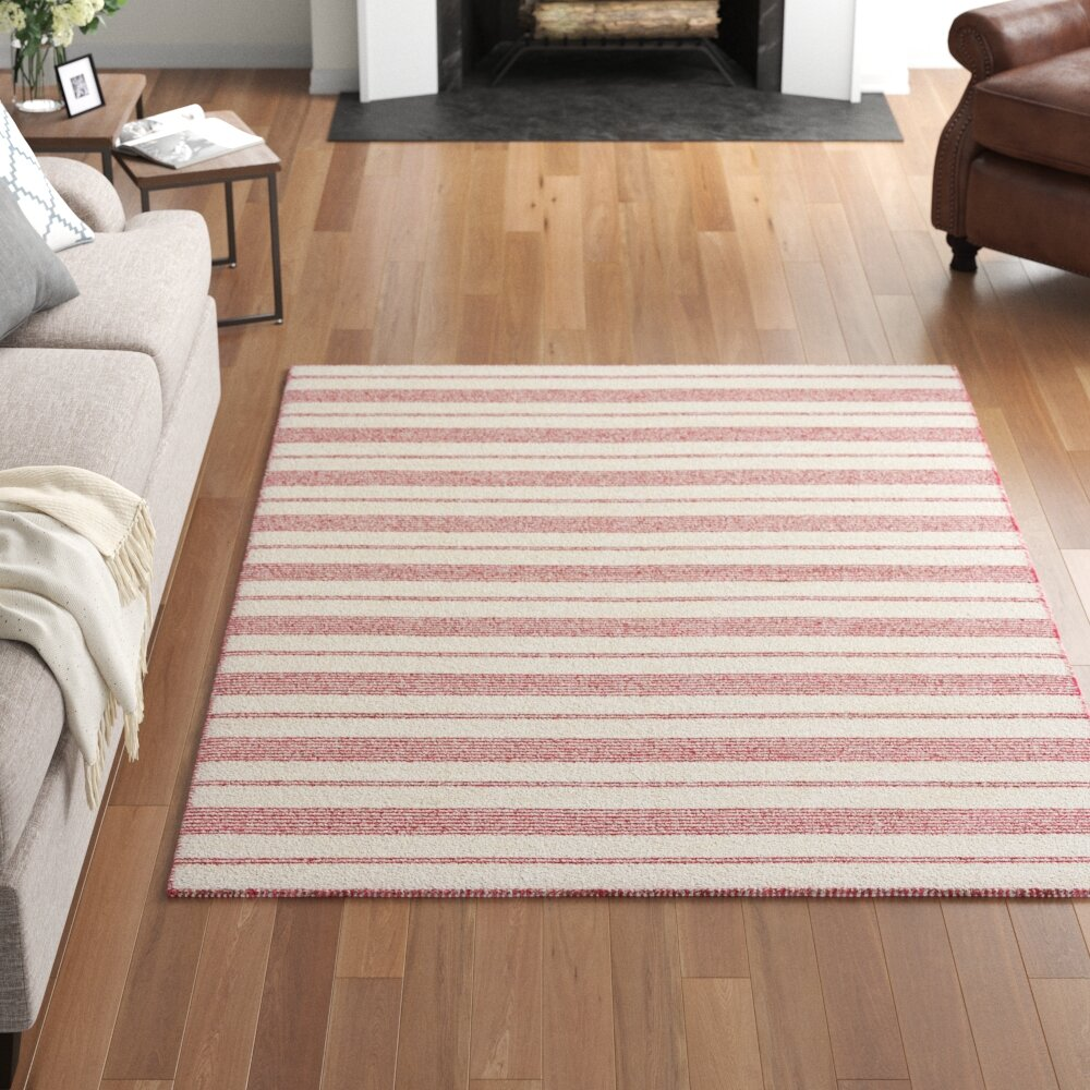 Three Posts Alicea Handmade Flatweave Pink Rug Reviews Wayfair