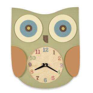 Owl 5.5 Wall Clock