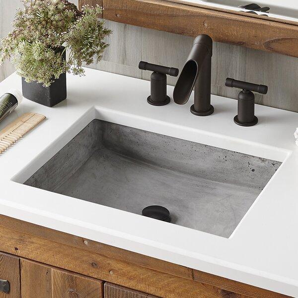Native Trails Nipomo Stone Rectangular Undermount Bathroom Sink U0026 Reviews |  Wayfair