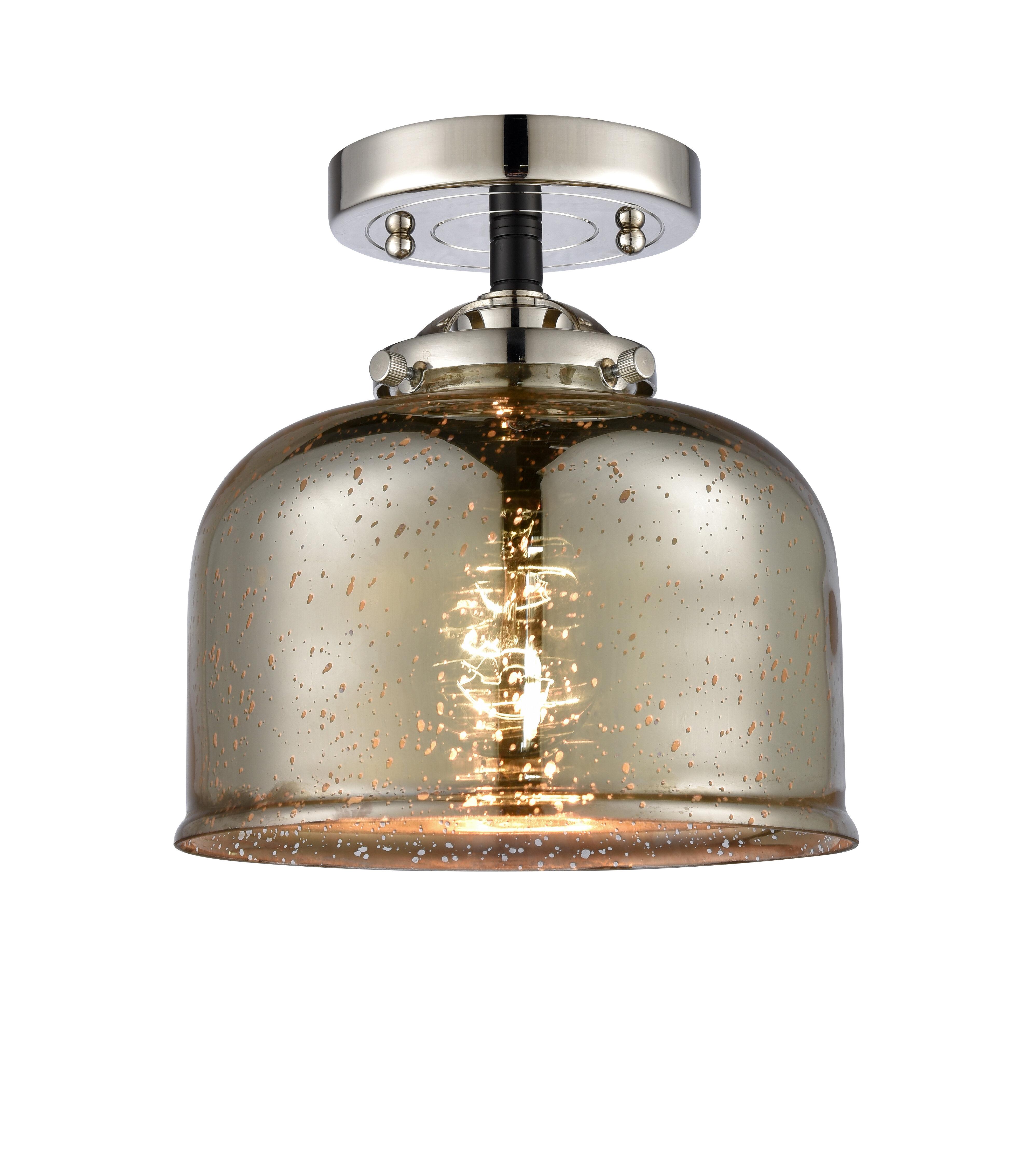 Wrought Studio Keyon 1 Light 8 Semi Flush Mount Wayfair