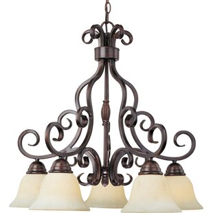Darby Home Co Amelia 5-Light Shaded Chandelier
