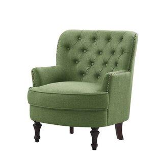Modern Green Accent Chair Set