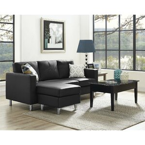 Living Room Sets Under 700 black sectional sofas you'll love | wayfair