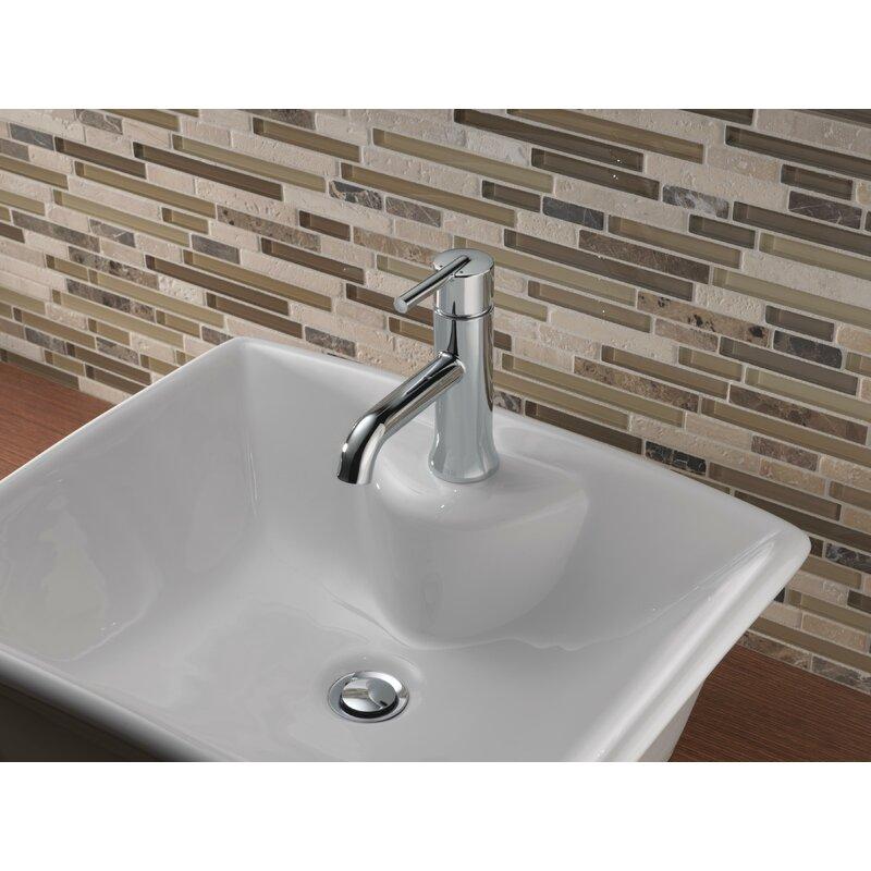 559lf Ssmpumpuczmpu Delta Trinsic Single Hole Bathroom Faucet