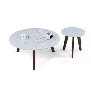 George Oliver Crow 2 Piece Coffee Table Set