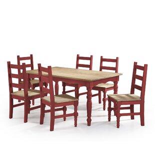 Gracie Oaks Pinard 7 Piece Dining Set