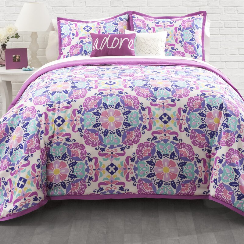 seventeen marrakesh comforter set & reviews | wayfair