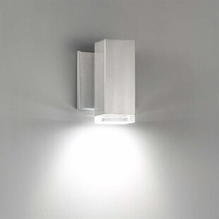 Orren Ellis Forst LED Outdoor Wall Sconce