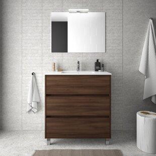 Louisa 810mm Free-standing Single Vanity Unit By Belfry Bathroom