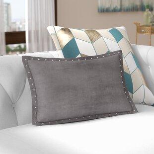 Ronning Stud Trim Lumbar Pillow