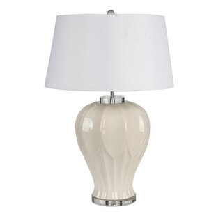 Emmet Ceramic Textured 28 Table Lamp