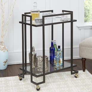 Wrought Studio Campos Bar Cart