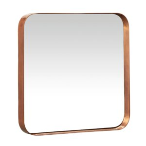 Metal and Glass Beacon Wall Mirror