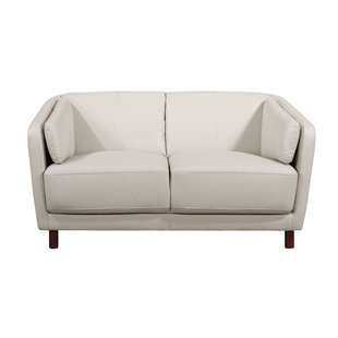 Whitesides Mid-century Modern Loveseat by Ebern Designs