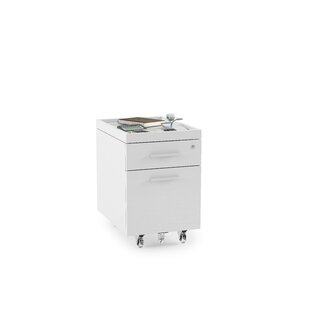 BDI Centro 2 -Drawer Mobile File Pedestal