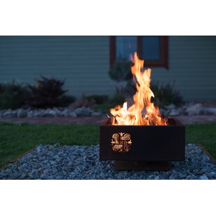 Steel Wood Burning Fire Pit Image