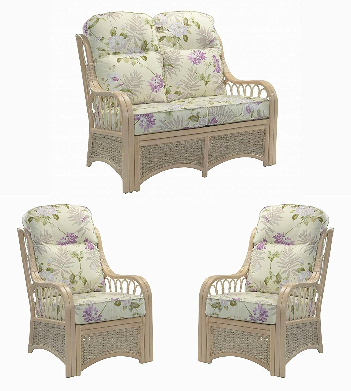 ad96e8345cc1 Rosalind Wheeler Alfson 3 Piece Conservatory Sofa Set | Wayfair.co.uk