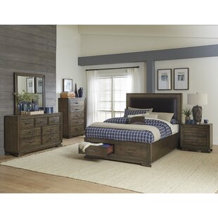 Shorehamby Upholstered Storage Platform Bed by Charlton Home