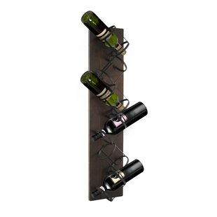 Sherlene 6 Bottle Mounted Wine Rack by 17..