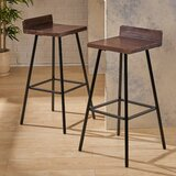 Louison 30 Bar Stool (Set of 2) by Williston Forge