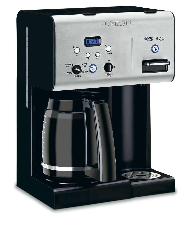 Cuisinart Coffee Plus 12 Cup Programmable Coffeemaker Plus Hot Water System Reviews Wayfair