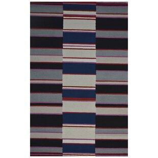 Read Reviews Wool Hand-Tufted Gray/Black Area Rug ByEastern Weavers