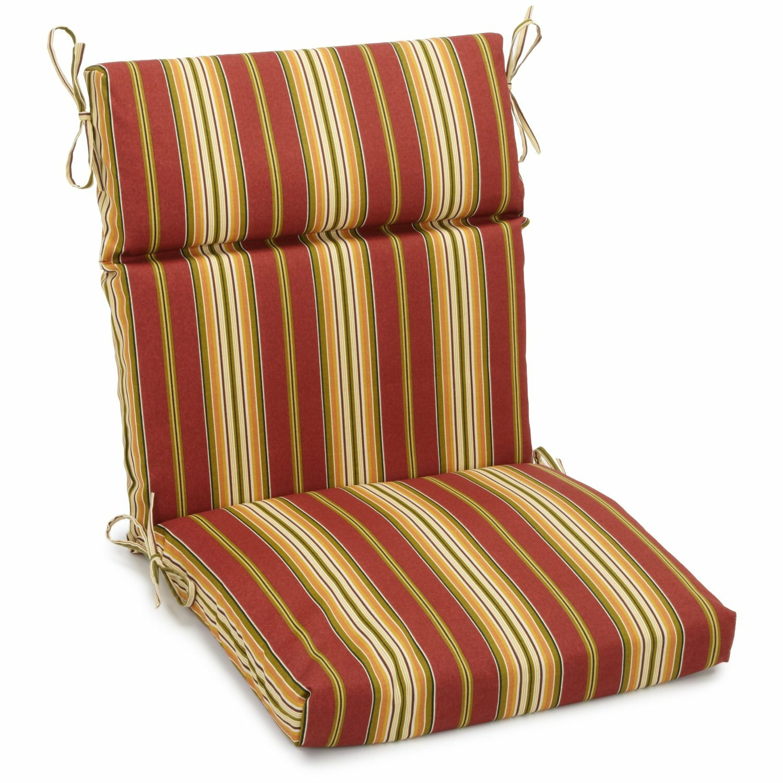 Blazing Needles Kingsley Indoor Outdoor Adirondack Chair Cushion Reviews Wayfair