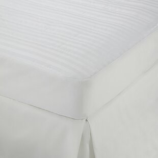 Damask Stripe Polyester Mattress Topper