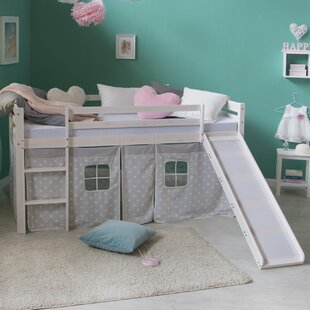 Melanie European Single Mid Sleeper Bed By Harriet Bee