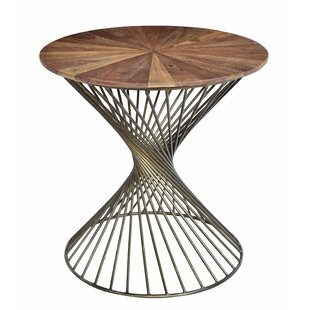 Gracia End Table by Ivy Bronx
