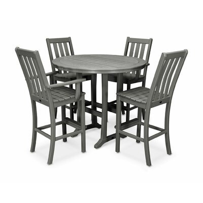 Vineyard 5-Piece Bar Set by POLYWOOD® Looking for