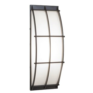 Online Reviews Misner LED Outdoor Sconce By Ebern Designs