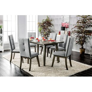 Yesenia 7 Piece Dining Set by Ebern Designs