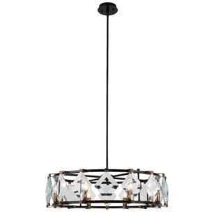 Everly Quinn Everalda8-Light Drum Chandelier
