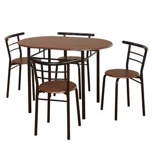Ryanne Bistro 5 Piece Dining Set