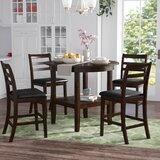Gosselin 5 Piece Counter Height Dining Set by Alcott Hill®