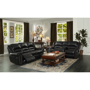 Medici Reclining Configurable Living Room Set by Astoria Grand