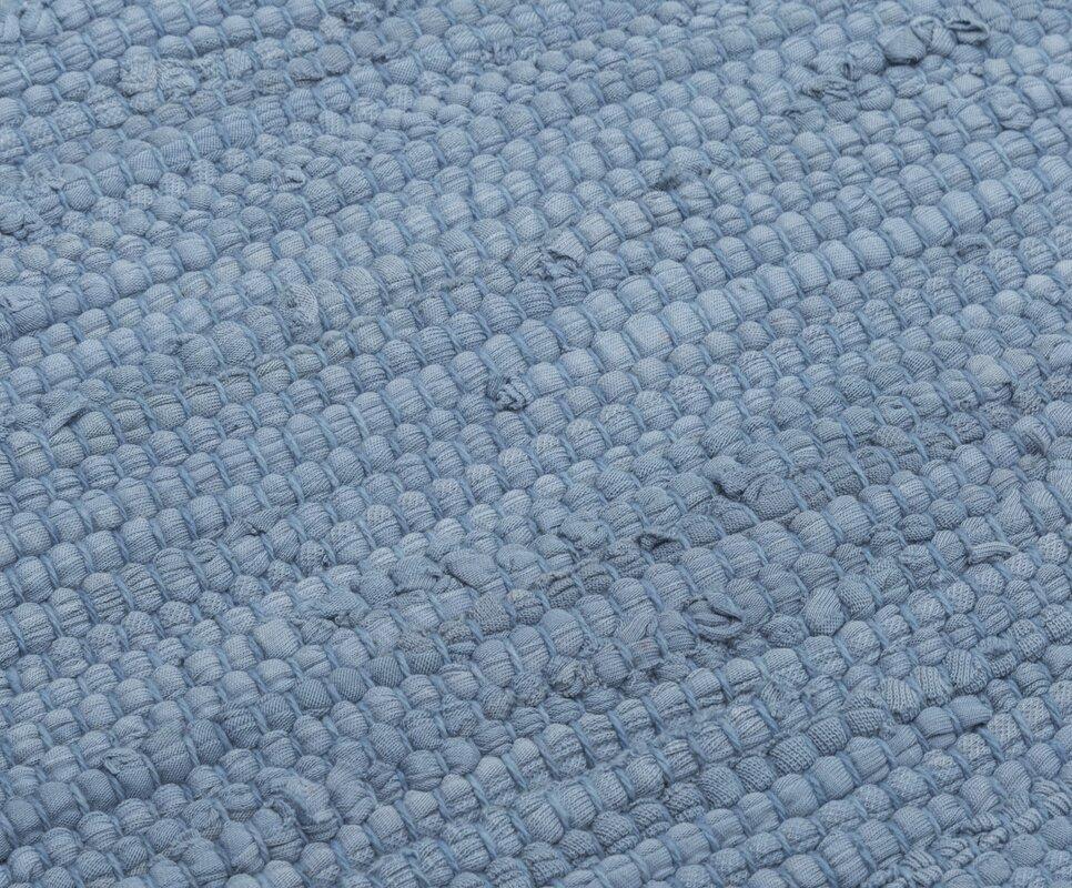 rug solid handgefertigter teppich aus baumwolle in eternity blau bewertungen. Black Bedroom Furniture Sets. Home Design Ideas