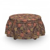 Tropical Palm Foliage Ottoman Slipcover (Set of 2) by East Urban Home