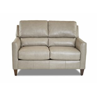 Broad Leather Loveseat by Latitude Run Wonderful