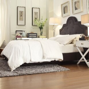 Three Posts Carrollton Upholstered Panel Bed