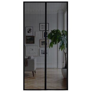 Ordinaire Magnetic Mesh Screen Door | Wayfair