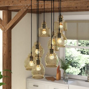 Cherrie 8-Light Cluster Pendant by Gracie Oaks