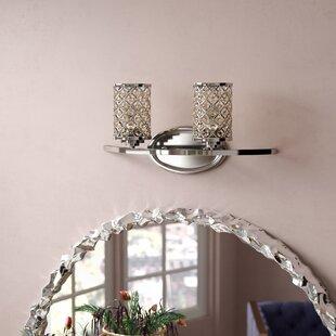 Willa Arlo Interiors Senters 2-Light Vanity Light