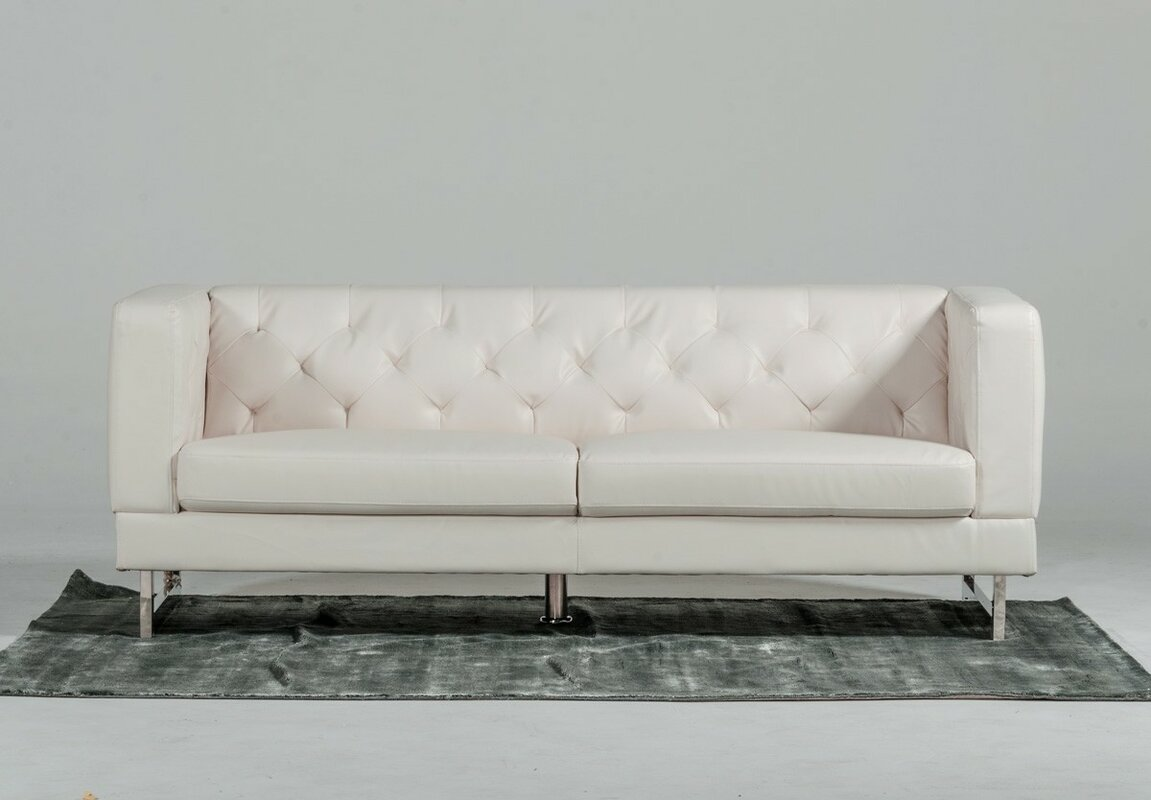 Alsatia 3 Piece Leather Living Room Set & Reviews | AllModern