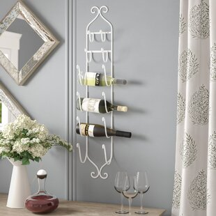 Wrought Iron Wall Wine Rack Wayfair