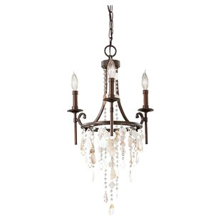 Feiss Cascade 3-Light Candle Style Chandelier