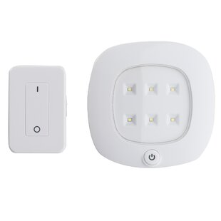 Light It! 6-Light LED Under Cabinet Puck Light