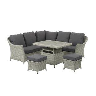 Ridgewood 7 Seater Rattan Corner Sofa Set Image
