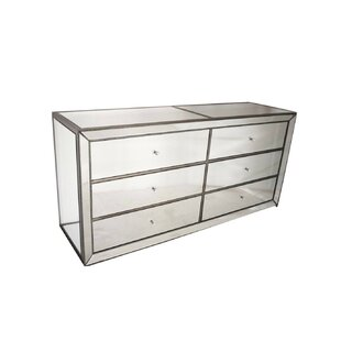 Gillis 6 Drawer Double Dresser